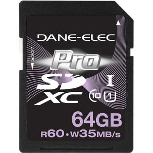 Dane-Elec 64GB SDXC Class 10 Memory Card