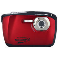 Bell+howell Splash2 16MP Waterproof Digital Camera w/HD Video (Red) at Kmart.com