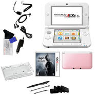 Nintendo 3DS XL Pink with Batman Arkham Origins Blackgate and 17 in 1 Accessoris Kit Bundle at Kmart.com