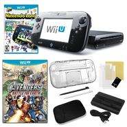 Nintendo Wii U 32GB Deluxe Black Bundle with 2 Games and Accessories at Sears.com