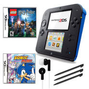 Nintendo 2DS Blue Bundle with 2 Games and Accessories at Kmart.com