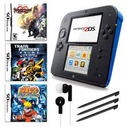 Nintendo 2DS Blue Bundle with 3 Games and Accessories at Kmart.com