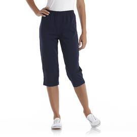 Basic Editions Women's Knit Capri Leggings at Kmart.com