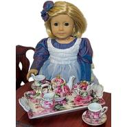 The Queen's Treasures Mini Fine China Tea Set - English Rose for 18'' Dolls like American Girl at Kmart.com