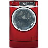 GE 4.8 cu. ft. RightHeight™ Design Front-Load Washer - Red at Sears.com