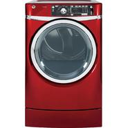 GE 8.3 cu. ft. RightHeight™ Design Gas Dryer w/ Steam - Red at Sears.com