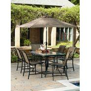 Garden Oasis Harrison 7 Piece Sling High Dining Set at Kmart.com
