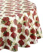 Holiday Tablecloth - Poinsettia at Sears.com