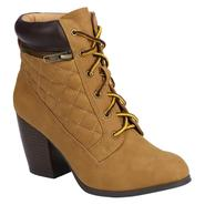 Qupid Women's Boot Maze - Camel at Kmart.com