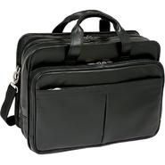McKlein® McKleinUSA WALTON 83985 Black Expandable Double Compartment Laptop Case w/ Removable Sleeve at Kmart.com
