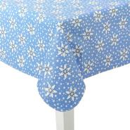 Christmas Vinyl Tablecloth - Snowflakes & Stars at Sears.com
