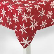 Holiday Tablecloth - Snowflake at Sears.com
