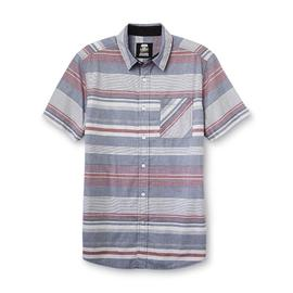 Route 66 Men's Button-Front Shirt - Striped at Kmart.com