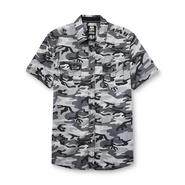 Route 66 Men's Button-Front Shirt - Camouflage at Kmart.com