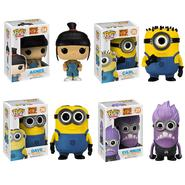 funko Dispicable Me 2: Pop! Vinyl Set - Carl, Dave, Agnes, Evil Minion at Kmart.com