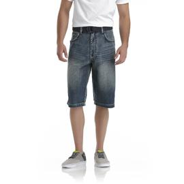 Route 66 Men's Faded Shorts & Belt at Kmart.com