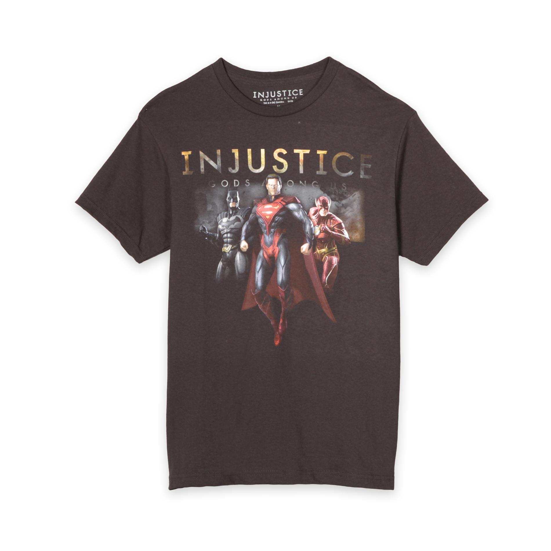 DC Comics Superhero Young Men's Graphic T-Shirt