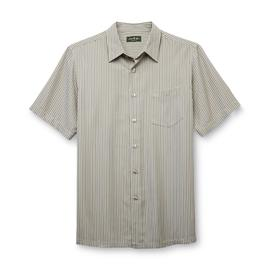 David Taylor Collection Men's Short-Sleeve Button-Front Shirt - Striped at Kmart.com