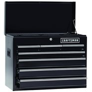 Craftsman 7-Drawer Heavy-Duty Ball-Bearing Top Chest - Black at Craftsman.com