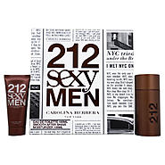 Carolina Herrera 212 Sexy Men by Carolina Herrera for Men - 2 Pc Gift Set 3.4oz EDT Spray, 3.4oz Smooth After Shave Moisturizer at Kmart.com