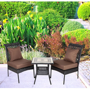 Patio Sense Sonoran All Weather Wicker 3pc. Bistro Set at Kmart.com