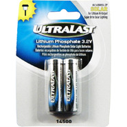 Ultralast Lithium Phosphate Rechargeable Batteries for 3.2 Volt Outdoor Solar Lighting at Sears.com