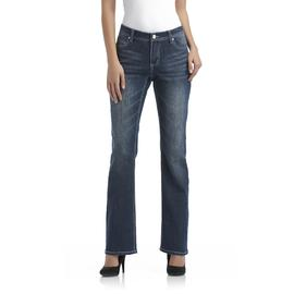 Canyon River Blues Women's Embellished Bootcut Jeans - Distressed at Sears.com