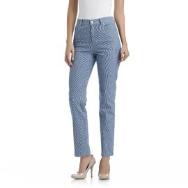 Gloria Vanderbilt Women's Amanda Stretch Denim Jeans - Pinstripe at Sears.com