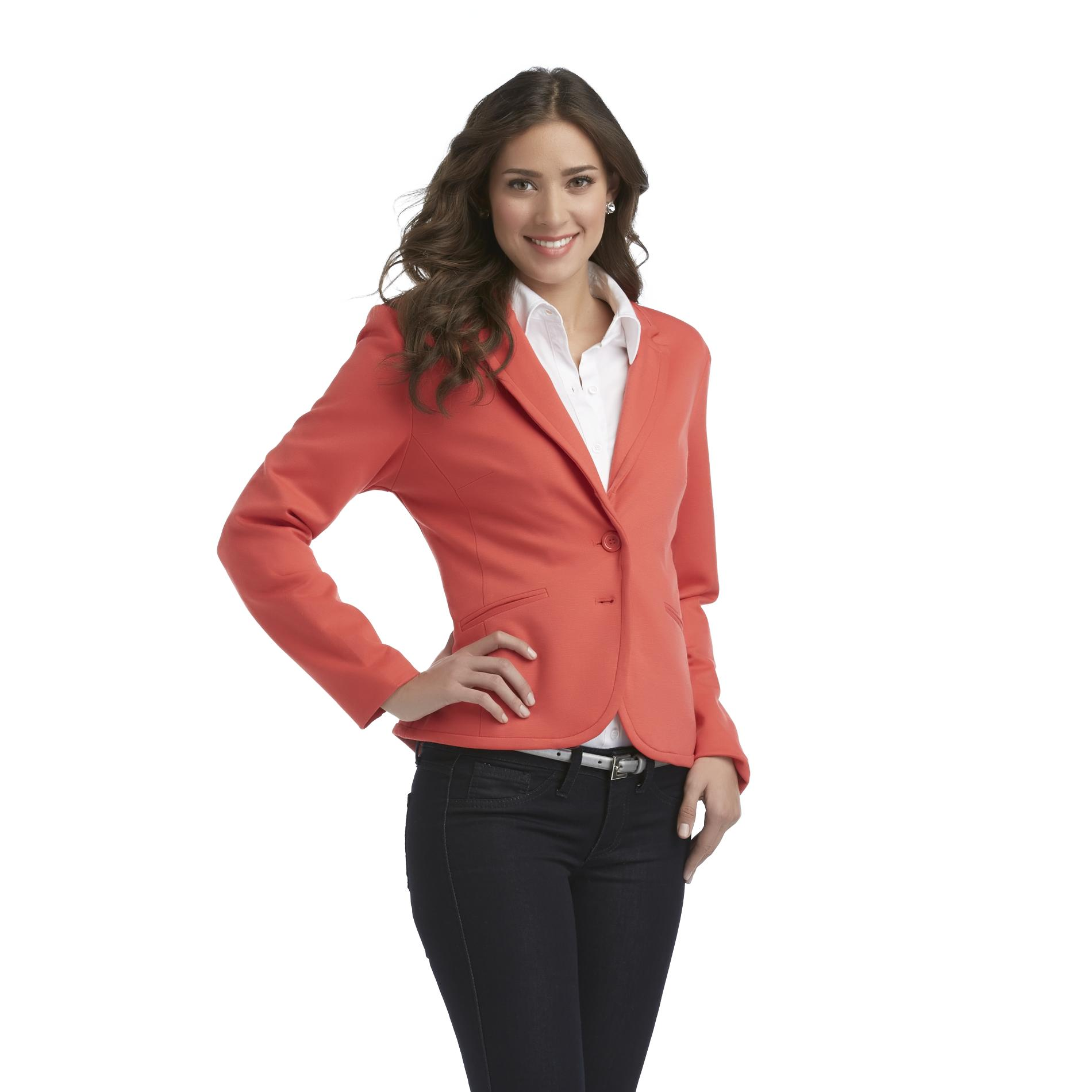 Covington Women's Single-Breasted Knit Blazer at Sears.com