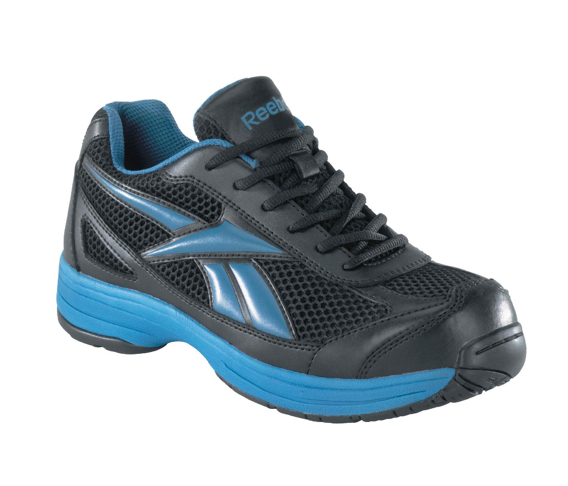 Reebok Men's blue and black Ketee steel toe athletic cross trainer