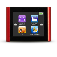 Eclipse 1.8-Inch 4 GB Touchscreen MP4 Video Player- Red at Kmart.com