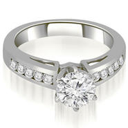 AMCOR 0.65 cttw Round Cut 14k White Gold Diamond Engagement Ring at Kmart.com