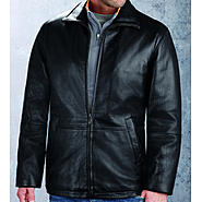 Excelled Lambskin Clean  Open Bottom Jacket - Online Exclusive at Kmart.com