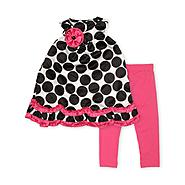Rare Too Infant & Toddler Girl's Top & Leggings - Dots at Sears.com