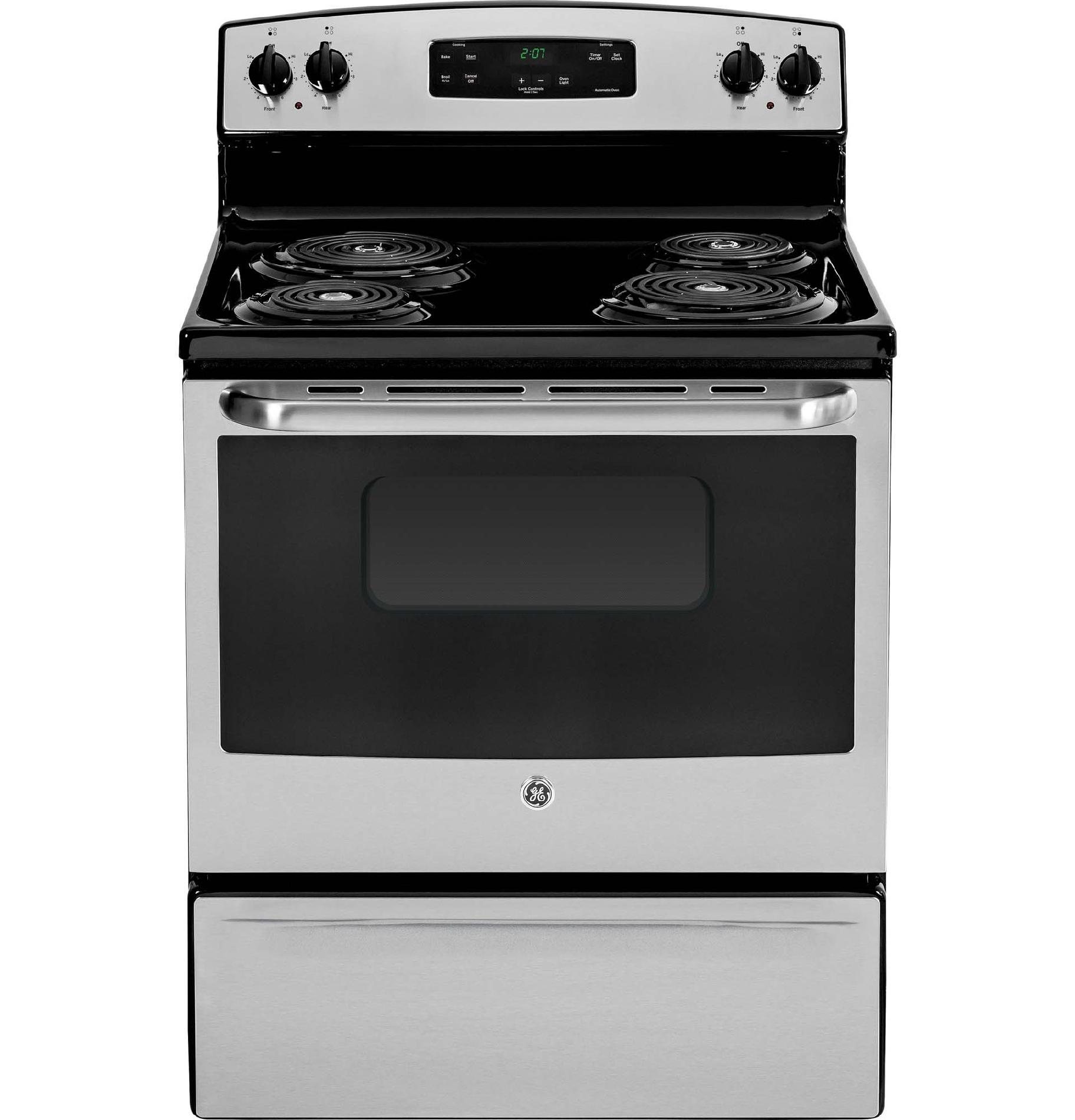 GE Appliances JBS27RFSS 5.0 cu. ft. Electric Range - Stainless Steel