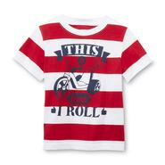 Toughskins Infant & Toddler Boy's Short-Sleeve Graphic T-Shirt - Striped at Sears.com