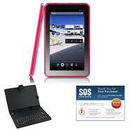 "iView® 9"" Red 4.2 Android Tablet Bundle at Kmart.com"