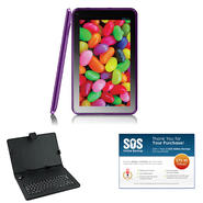 "iView® 9"" Purple 4.2 Android Tablet Bundle at Kmart.com"