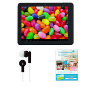 "Supersonic 9.7"" Android 4.1 Touch Screen Tablet with Earbuds and $25 Voucher at Kmart.com"
