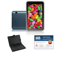 "iView® 7"" Blue 4.2 Android Tablet Bundle at Kmart.com"