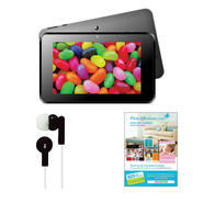 "SUPER 7"" Android 4.2 Touch Screen Tablet with Earbuds and $25 Voucher at Kmart.com"