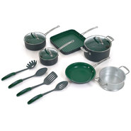 Orgreenic 13 Piece Non-Stick Cookware Set at Kmart.com