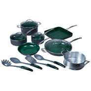 Orgreenic 16 Piece Non-Stick Cookware Set at Kmart.com