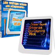 Trademark Home LED Writing Menu Message Board - White at Kmart.com