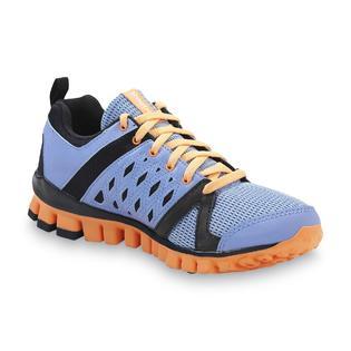 new concept ba7a4 31bc5 Reebok Women s RealFlex Advance Running Athletic Shoe - Lavender Tangerine