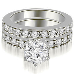 AMCOR 1.95 cttw Round-Cut 14k White Gold Diamond Engagement Ring Set at Kmart.com