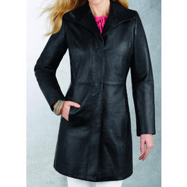 R&O Women's Leather Pencil Coat - Online Exclusive at Sears.com