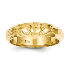 14k Mens Claddagh Ring - Size 10 at Kmart.com