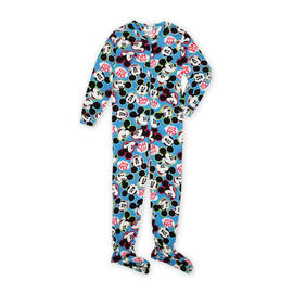 Disney Women's Footie Pajamas - Mickey Mouse at Kmart.com