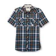 Roebuck & Co. Young Men's Western-Style Shirt - Plaid at Sears.com
